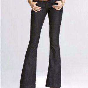 NWOT Express Black Stella Flare Jeans Size 8